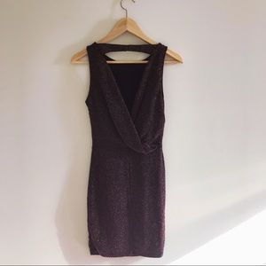 H&M size XS Sparkly Red Dress